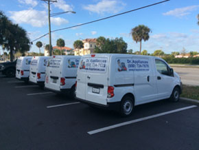 Our  Appliance Repair Fleet in Fort Myers and Cape Coral !!! Nice